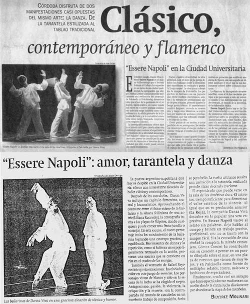 Essere Napoli